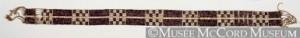 Anonymous, Forêts de l'Est, Autochtone, 18e siècle ou 19e siècle, 7 x 109.5 cm, Don de Mr. David Ross McCord, M1906 © Musée McCord