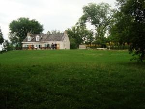 La maison Charron, près de la rivière des Outaouais, Gatineau, Qc, 2012