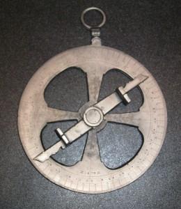 Reproduction d'un astrolabe