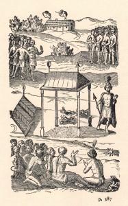Champlain, Samuel de. 1973. «Voyage du sieur de Champlain, en la Nouvelle France, faict en l'année 1615». Dans Œuvres de Champlain. Éditions du jour : Montréal, p.587