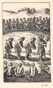 Champlain, Samuel de. 1973. «Voyage du sieur de Champlain, en la Nouvelle France, faict en l'année 1615». Dans Œuvres de Champlain. Éditions du jour : Montréal, p.578